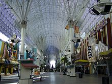 Fremont Street light canopy during the day & Fremont Street Experience - Wikipedia