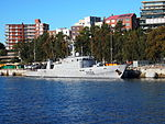 French Navy patrol boat La Moqueuse at Sydney in September 2012.JPG