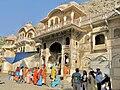 Frescoes at Gultaji Temple, Jaipur.JPG