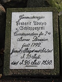 Friderich Adolph Schleppegrell Gravestone.jpg