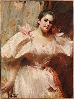 ZORN Anders Portrait of Frieda Schiff 1894