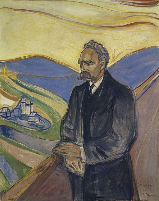 """""""Portrait of Friedrich Nietzsche"""" by Edvard Munch – Joy of Museums"""