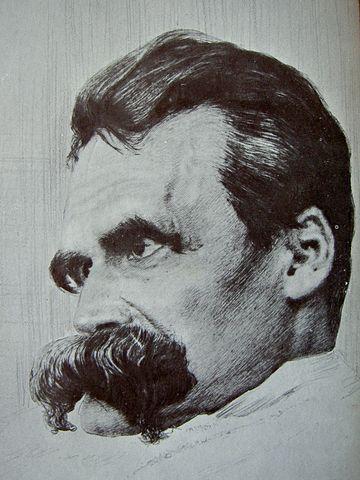 Ницше, рисунок Ганса Ольде
