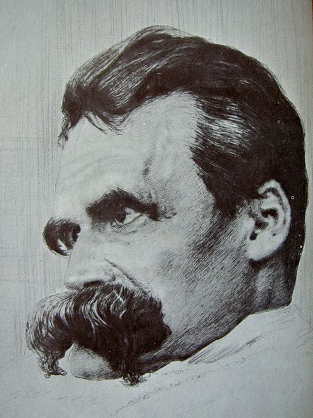 Archivo:Friedrich Nietzsche drawn by Hans Olde.jpg