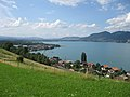 From Einigen, looking west over Lake Thun - panoramio.jpg