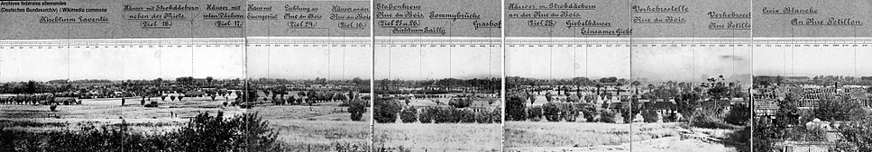 Fromelle panoramique1914