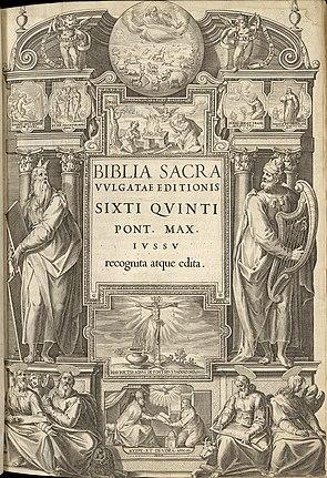 Průčelí Sixto-Clementine Vulgate (1592) .jpg