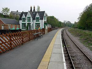 Weardale Railway - Frosterley Station, 2009
