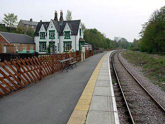 Weardale Railway - Frosterley Station, 2009