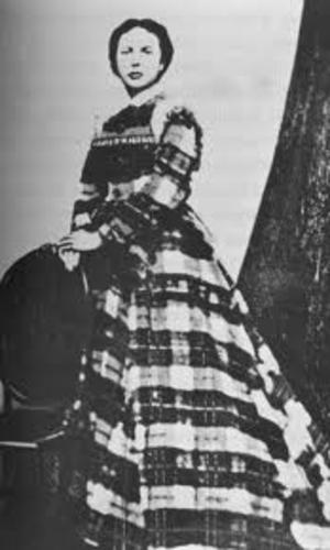 Dora Hand - Full photograph of Dora Hand, c. 1878
