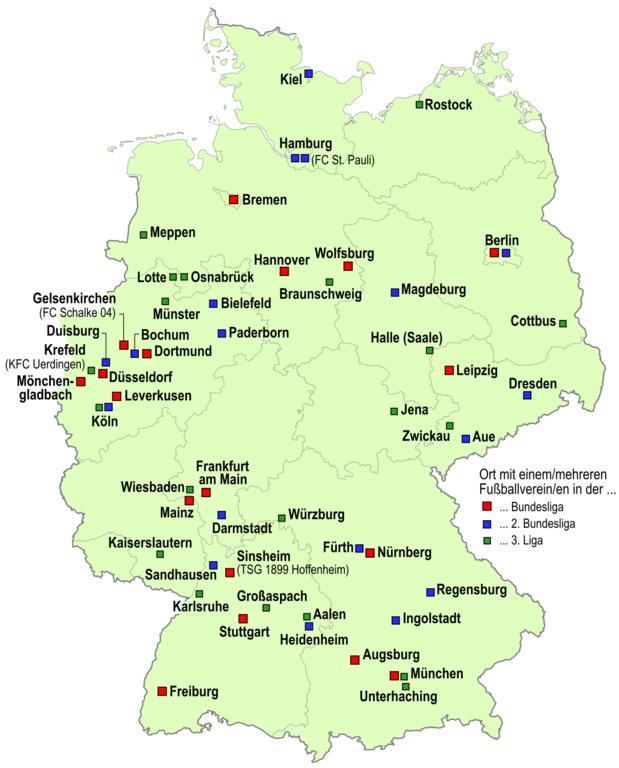 FuГџball Ligen Deutschland