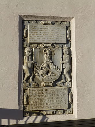 Batthyány - Balthasari Batthiani, 1590, Güssing