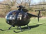 G-BIOA Hughes 369D AH Helicopters Services Ltd (33643912704).jpg