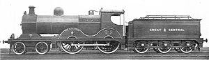 Alexander Henderson, 1st Baron Faringdon - GCR no. 1014 Sir Alexander, one of several locomotives named after Henderson
