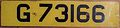 GIBRALTAR c.2005 -YELLOW REAR PLATE - Flickr - woody1778a.jpg