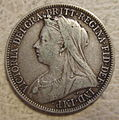 GREAT BRITAIN, VICTORIA 1899 -FLORIN b - Flickr - woody1778a.jpg