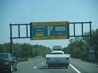 Barrier toll system