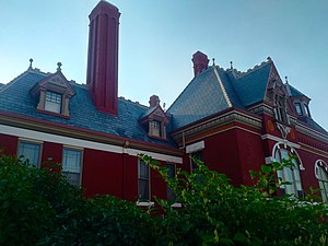 Copper King Mansion - Image: Gables of Copper King Mansion