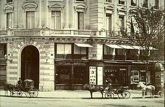 Goupil & Cie - Galerie Goupil, place de l'Opéra Paris.