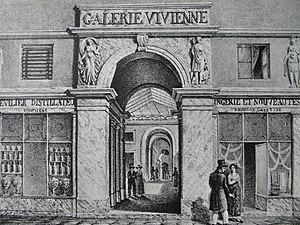 Galerie Vivienne - Image: Galerie Vivienne 1820