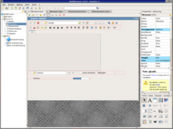 Gambas 3.0.0 running from Xfce