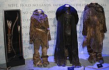 Game of Thrones Oslo exhibition 2014 - Ygritte, Jon and Tormund costumes.jpg