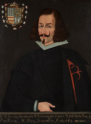 García Sarmiento de Sotomayor, 2nd Count of Salvatierra - Image: Garcia Sarmientode Sotomayor