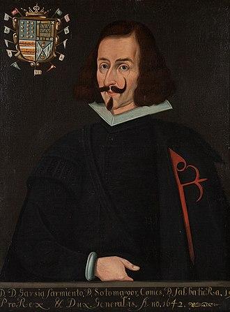 García Sarmiento de Sotomayor, 2nd Count of Salvatierra - Image: Garcia Sarmientode Sotomayor