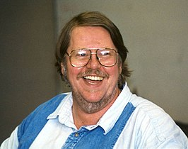 Gardner Dozois tijdens de Clarion West Writers Workshop in 1998