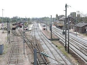 Abancourt, Oise - Abancourt Station in 2008