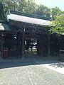 Gate for Kaiunden Hall of Miyajidake Shrine from inner side.jpg