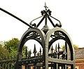 Gate pillar, Lisburn - geograph.org.uk - 1517717.jpg
