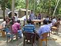 Gathering in a meeting of villagers in an Bangladeshi village 2015 12.jpg