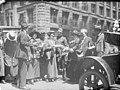 Gathering of men and women on downtown street, Seattle, ca 1917-ca 1920 (SEATTLE 4318).jpg