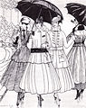 Gazette du Bon Ton fashion plate 1915 rain.jpg