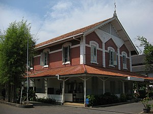 St. Joseph's Church, Semarang - During the Japanese occupation, the clergy prevented seizure of the presbytery.