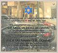 Gedenktafel Bleibtreustr 24 (Charl) Albert Ullmann.jpg