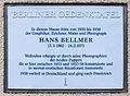 Gedenktafel Ehrenfelsstr 8a (Karl) Hans Bellmer.jpg