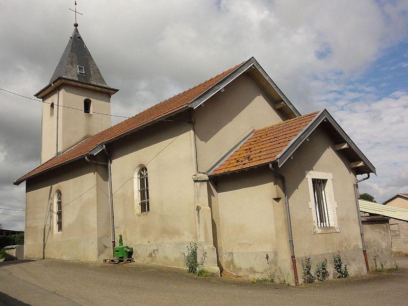 Gellenoncourt (M-et-M) église