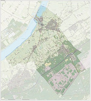 Elburg - Dutch Topographic map of Elburg, June 2015