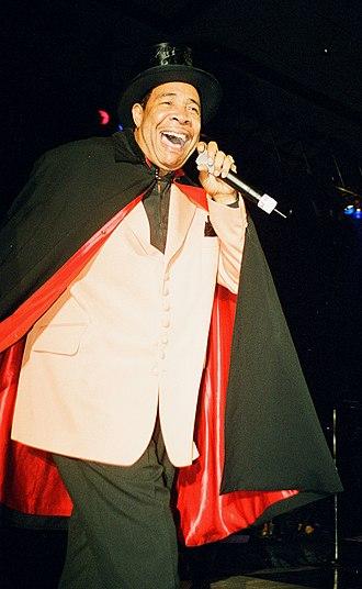 Gene Chandler - Chandler wearing the Duke of Earl costume in 1997