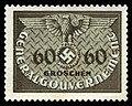 Generalgouvernement 1940 D11 Dienstmarke.jpg