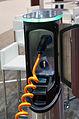 Geneva MotorShow 2013 - Valmet automotive EVA Range Extender charging station.jpg