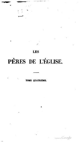 File:Genoude - Les Pères de l'Eglise, vol. 4.djvu