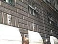 Genova-Centro storico-Via Fossatello-Tre maschere-DSCF7493.JPG