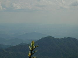 Uitzicht over de Genting Highlands