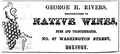 GeorgeRivers NativeWines WashingtonSt Roxbury BostonDirectory 1861.png