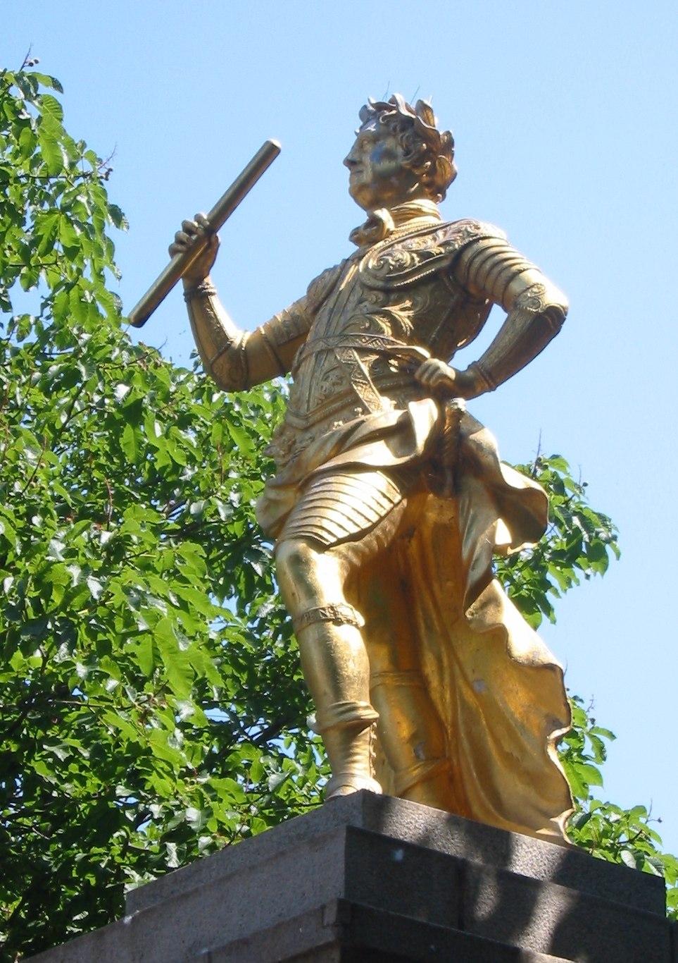 George II statue St Helier Jersey