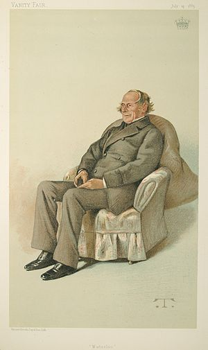 George Keppel, 6th Earl of Albemarle - George Kepple  caricatured in Vanity Fair, 1883