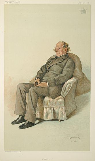 George Keppel, 6th Earl of Albemarle - George Kepple  caricatured in Vanity Fair, 1883